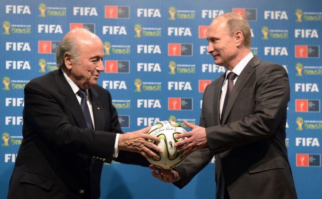<p>BISARR TANKE: Fotball-VM i Russland i 2018.</p>