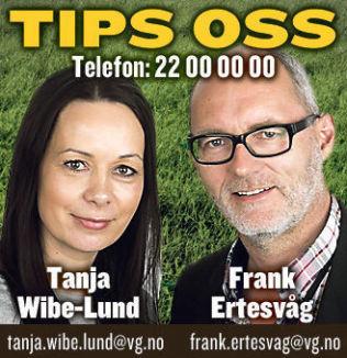 """<p>Kontakt oss om oppvekst: <a class="""""""" href=""""http://www.vg.no/tips/?til=tanjaw@vg.no;%20franke@vg.no"""">Franke@vg.no og Tanja@vg.no</a><br/></p>"""