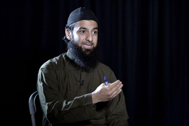 <p>STØTTER IS: Talsperson for Profetens Ummah, Ubaydullah Hussain lot seg i går intervjue av VG.<br/></p>