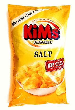 <p><b>Potetchips Salt (Kims)<br/></b></p><p><b>Akrylamid: 463 mikrogram/kg</b></p>