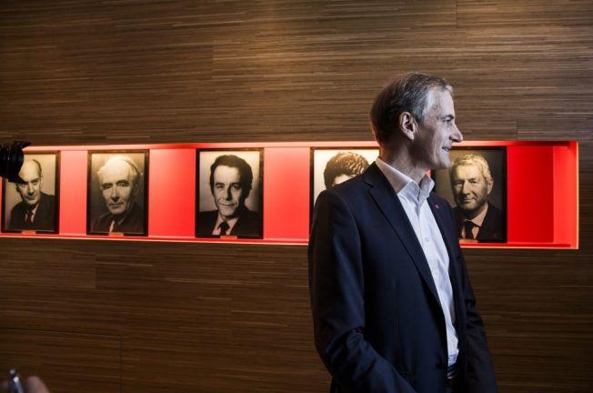 <p>FAST LINJE: Jonas Gahr Støres kronikk om at Aps langsiktige oljepolitikk ligger fast, skapte lettelse i LO.<br/></p>
