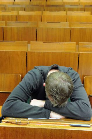 <p>UTBRENT: For mange studenter blir kravene for tøffe.<br/></p>