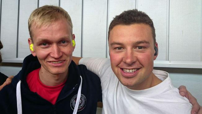 <p>GULL OG BRONSE: Odd Arne Brekne og Ole-Kristian Bryhn tok henholdsvis bronse og gull på 300 meter helmatch.</p>
