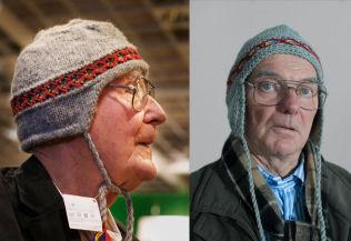 <p>VIRKELIGHETEN og fiksjon: IKEA-gründer Ingvar Kamprad til venstre, filmens «Kamprad» (Björn Granath) til høyre.<br/></p>
