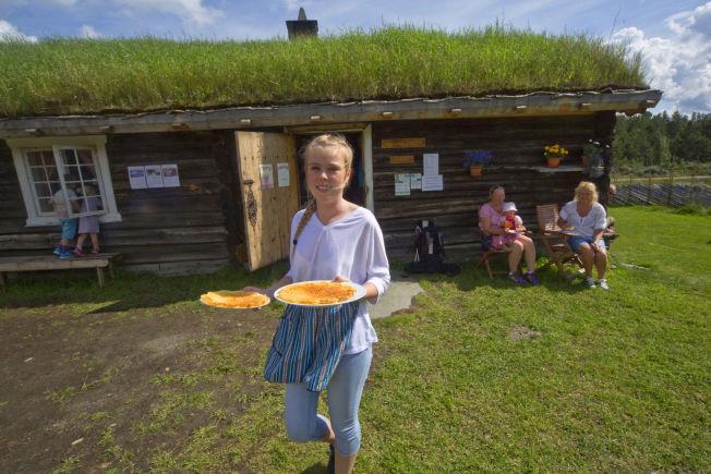 <p>POSTKORT-VAKKERT: Setervollen i sydenden av Lemonsjøen, med hus fra 1860, er satt i stand med kjærlig hånd. Kaffe og setervafler står selvsagt på menyen.<br/></p>