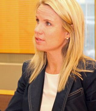 <p>Politiadvokat Tina Bjarkø Helleland i Oslo politidistrikt.</p>