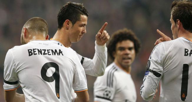 <p>BBCØ ELLER BBCM? Real Madrid har en fryktet trio i Karim Benzema, Cristiano Roanldo og Gareth Bale, ofte kalt BBC grunnet navnene deres. Kanskje blir det til en kvartett, men Bale, Benzema, Cristiano og Martin Ødegaard i fremtiden?<br/></p>