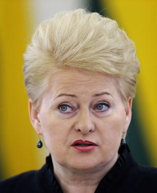 <p>POPULÆR: I mai ble Litauens president Dalia Grybauskaite gjenvalgt for en ny femårsperiode. Hun blir ikke mindre populær når hun - med norsk hjelp - i dag bryter Putins gassmonopol i Baltikum.<br/></p>