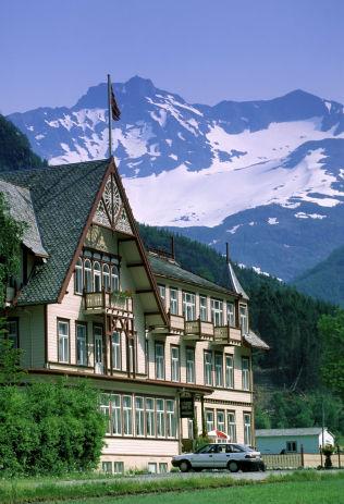 <p>HOTELL UNION: Kan være utgangspunkt for både fjellturer og sykkelturer.</p><p><br/></p>
