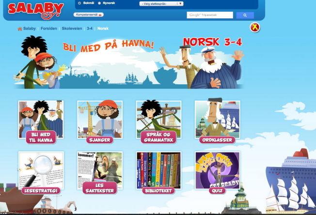 <p>DIGITAL REDAKSJON: Gyldendal forlag har utviklet den digitale pensumplattformen «Salaby». Plattformen har en selvstendig redaksjon bestående av forfattere, animatører og programmerere som kobler på kunstnere og musikere ved behov.</p>