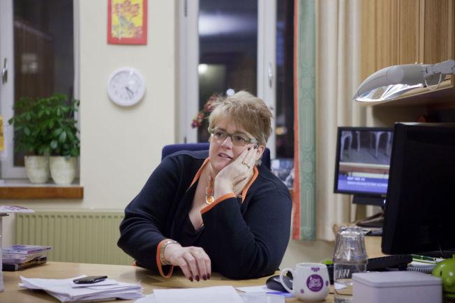 <p>RASER MOT BARNETILLEGGET: Venstre-leder Trine Skei Grande mener forslaget om kutt i barnetillegget må fjernes fra budsjettet.<br/></p>