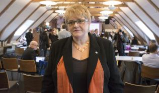 <p>VANT UFØRE-KAMP: Venstre-leder Trine Skei Grande.<br/></p>