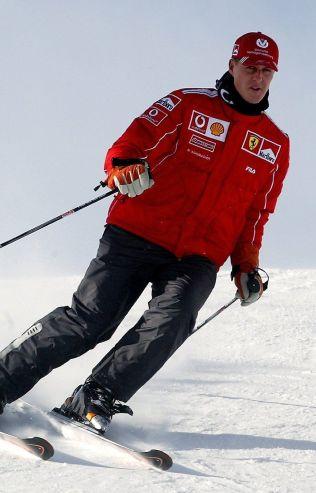 SKIENTUSIAST: Michael Schumacher har vært en meget ivrig skikjører opp igjennom årene. Her er han i alpintanlegget i italienske Madonna di Campiglio i 2004.