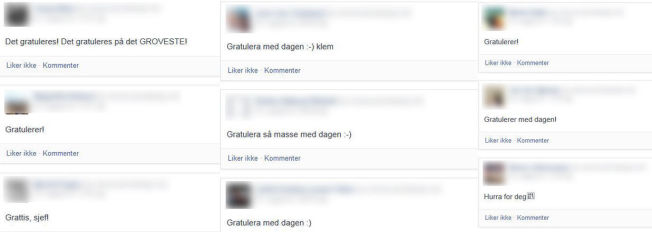 <p>DAGEN ER DIN: Gratulasjoner kan hagle på Facebook når folk har bursdag.</p>