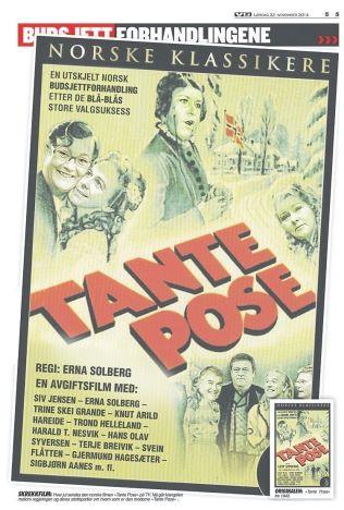 <p>TANTEKAMP: Frp og Venstre krangler fortsatt om hvem som er samarbeidspartienes Tante Pose.</p>