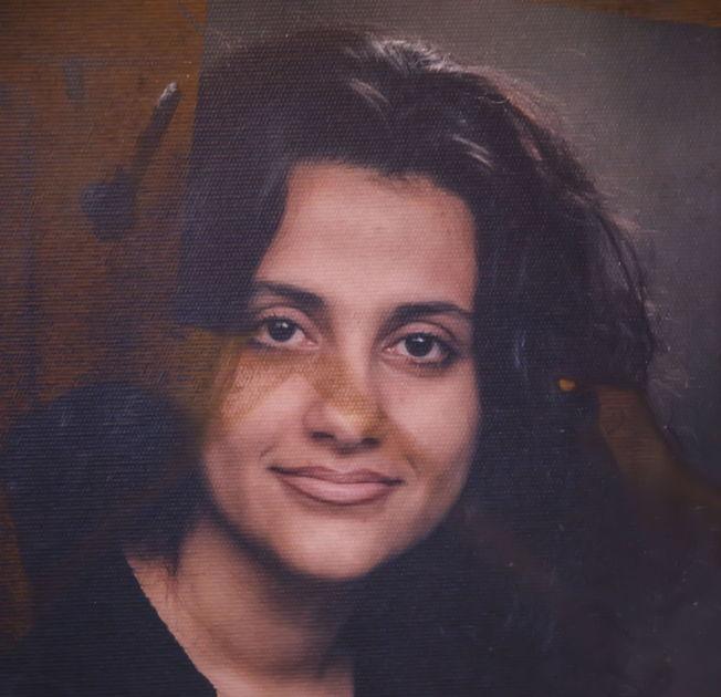<p>SHILAN SHORSH: Den norsk-kurdiske menneskerettighetsforkjemperen døde i en brann i sin egen leilighet i Bergen 18. mai 2013. Dette portrettet av henne hang på veggen i soverommet hvor brannen startet, og bildet er fremdeles merket av brannen.</p>