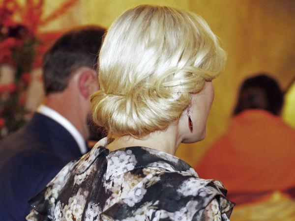 20c4d004 EN PRINSESSE VERDIG: Kronprinsesse Mette-Marit har begynt å eksperimentere  litt mer på hårfronten