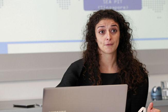 <p>SAMSUNG-SJEF: Lysa Clavenna er sjef for innovasjon i Samsung Europa.<br/></p>