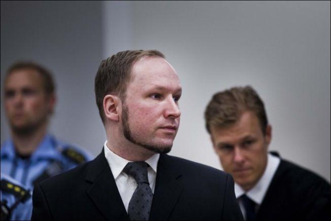 <p>BREVSTANS: Massemorder Anders Behring Breivik, her fotografert under rettssaken mot ham.<br/></p>