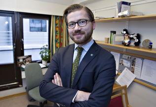 <p>VIL ÅPNE: Venstre-politiker Sveinung Rotevatn.<br/></p>