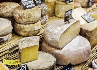 <p>K2-KILDE: Ulike ostetyper og gjærede matvarer (som gamalost) er viktige K2-kilder.</p>