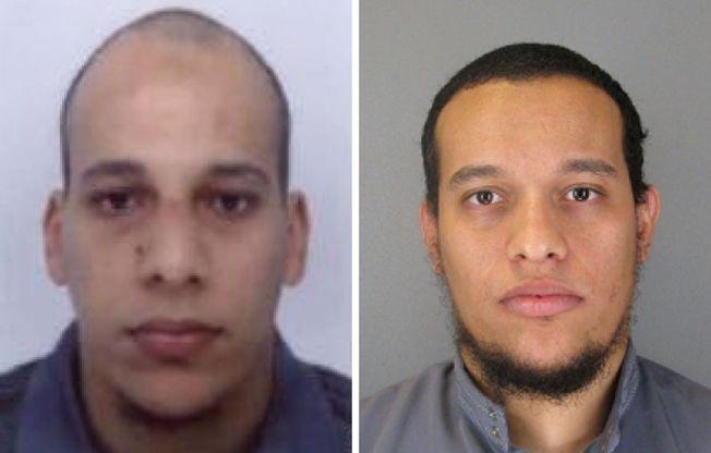 <p>TERRORISTER: Brødrene Cherif og Said Kouachi sto bak terrorangrepet på Charlie Hebdo, og hevder de fikk oppdraget av Al-Qaida i Jemen.</p>
