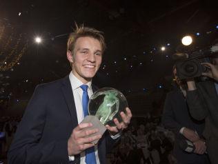 <p>GJENNOMBRUDDSMANN: Martin Ødegaard hadde et 2014 så spektakulært at han ble kåret til årets gjennombrudd under Idrettsgallaen.</p>