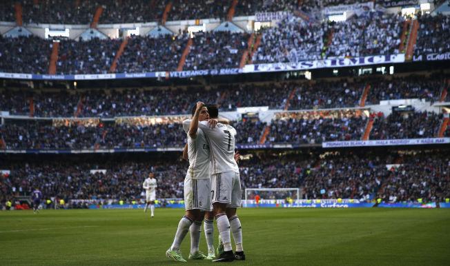 <p>NY LEKEGRIND, NYE LEKEKAMERATER: Spill i fotballkatedralen Santiago Bernabéu med verdensstjerner som Cristiano Ronaldo og James Rodriguez som lagkamerater blir Martin Ødegaards nye hverdag.<br/></p>