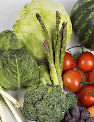 <p>TREKKER NED: I kategorien frukt og grønt er det spesielt grønnsaker som trekker veksten ned i 2013.</p>