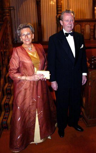 <p>FEIRET: Prinsesse Astrid Fru Ferner fikk 54 år med ektemannen. Her fra feiringen av hennes 70 års dag.</p>