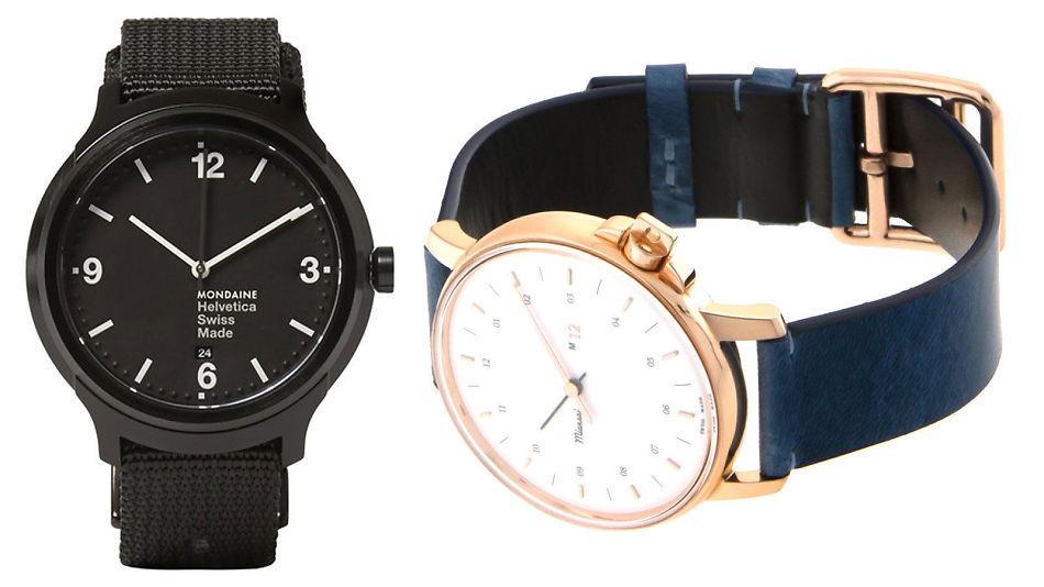 543a77f7 ENKELT: Stilrene, minimalistiske klokker er en enkel måte å forbedre et  hvilket som helst