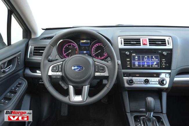<p>DAB+: Subaru har innført DAB+ som standard på alle nye modeller - her nye Outback som snart en på plass i Norge</p>