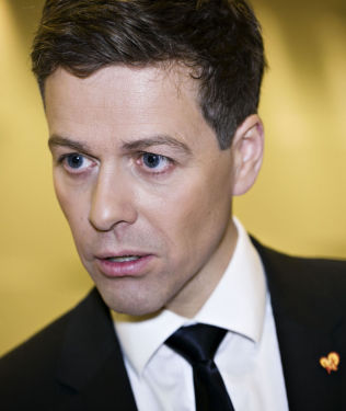 <p>FØLER SEG LURT: KrF-leder Knut Arild Hareide.</p>