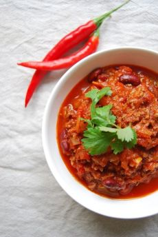 tidstyv_spicy chili con carne