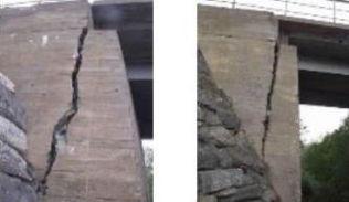 <p>FARLIG? Broen Voulmasjok på E 6 i Finnmark har store sprekker.</p>