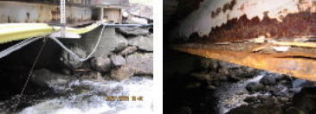 <p>RUST: Bråten Nordre på Riksvei 7 i Gol er rustet og tre til fire tverrbjelker er ødelagte. Foto: STATENS VEGVESEN</p>