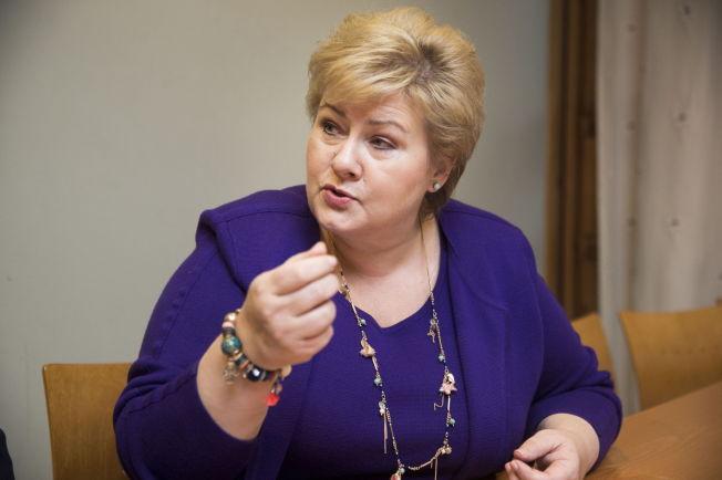 <p>ENGASJERT: Statsminister Erna Solberg mener regjeringen har flere tiltak på trappene mot hatytringer.<br/></p>