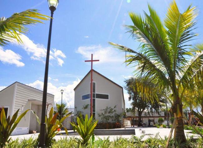 <p>NY KIRKE: Med 67 vielser i fjor er Kronspinsesse Mette-Marits kirke i Miami, som åpnet i 2011, den femte mest populære sjømannskirken å gifte seg i. Kanskje har det med Norwegians nye Fort Lauderdale-rute å gjøre. Foto: Sjømannskirken</p>