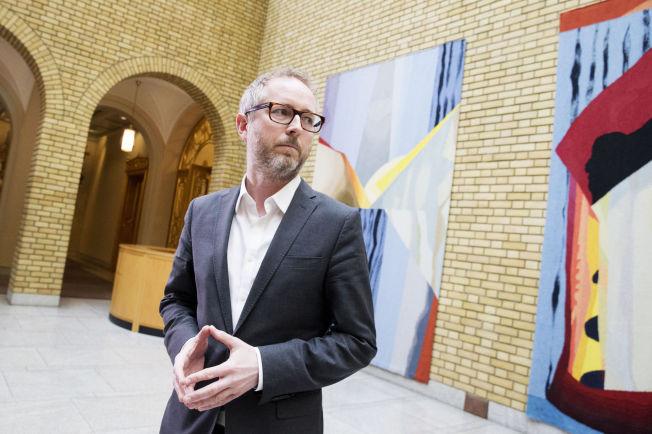 <p>KRITISK: SV-nestleder Bård Vegar Solhjell er bekymret for utviklingen i norsk utenrikspolitikk.<br/></p>