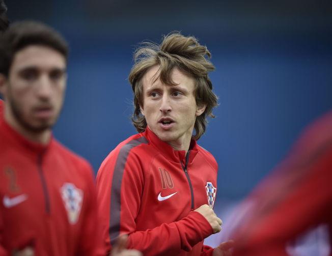 <p>MY NAME IS LUCA: Norge vil ikke sette særlig pris på å møte et lag som Kroatia, med en spiller som Luca Modric.<br/></p>