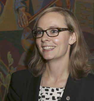 <p>REAGERER: Anne Siri Koksrud Bekkelund. Her fra et møte i Oslo bystyre.<br/></p>