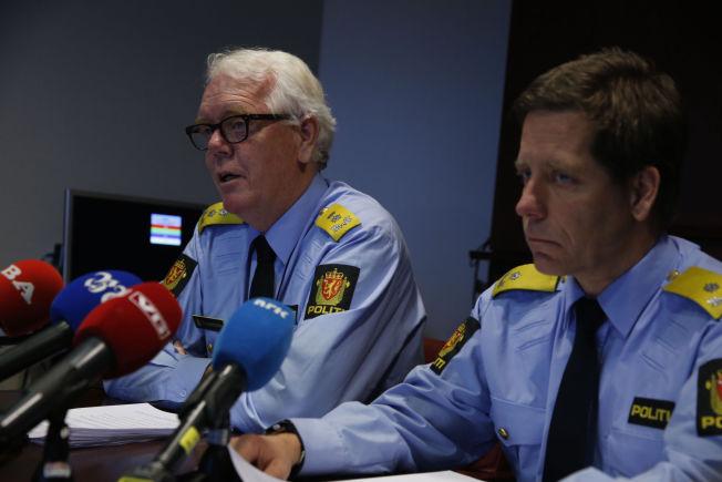 <p>DÅRLIG TILLIT: Politimester Geir Gudmundsen (t.v.) - nå midlertidig fratrådt - og visepolitimester Gunnar Fløystad.</p>