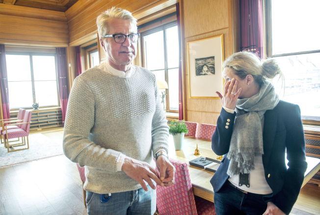 <p>DET VONDE ØYEBLIKKET: Følelsene ble så sterke da Oslo-ordfører Fabian Stang fortalte om overgrepet han ble utsatt for som tenåring. For ikke en gang kona Catharina Munthe hadde fått vite noe om sin manns smerte – før nå. Tårene trillet.</p>