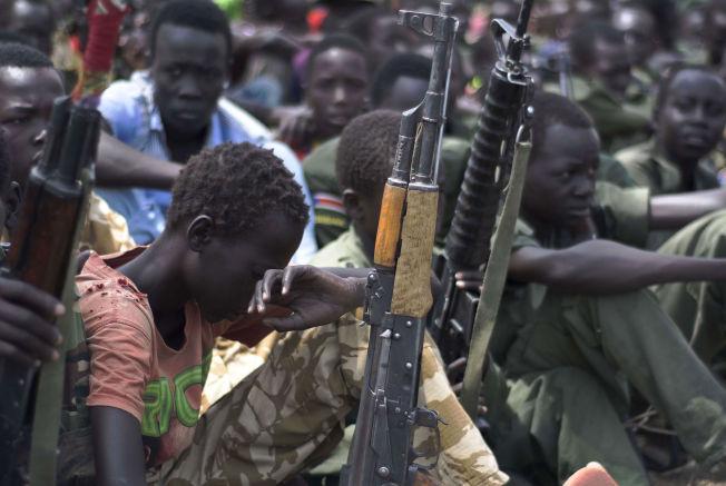 <p>BARNESOLDATER: Illustrasjonsfoto fra Sør-Sudan. I løpet av de to siste ukene har volden mot barn økt, ifølge UNICEF.<br/></p>