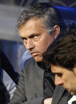 <p>KOMPISER: José Mourinho (t.v.) og Aitor Karanka.<br/></p>