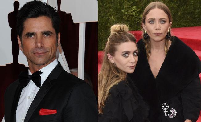 <p>DÅRLIG TONE: John Stamos, her avbildet på en galla i Hollywood i februar i år. Bildet av Ashley og Mary-Kate Olsen er fra et arrangement i New York tidligere denne måneden.<br/></p>