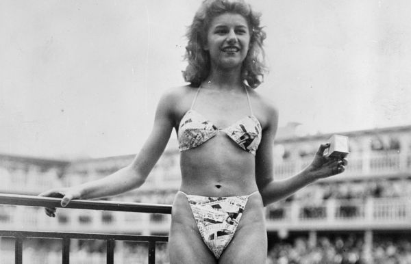 b4fcf451 DEN FØRSTE: Designer Louis Réard er kjent for å ha laget den første  bikinien -
