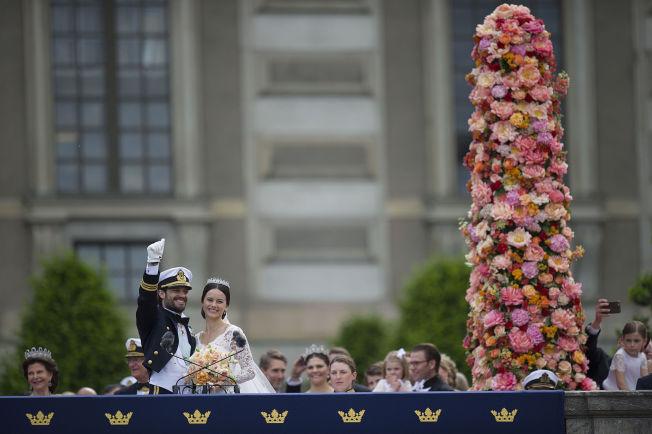 <p>PRESENTERTE PRINSESSEN: Prins Carl Philip startet talen sin med å takke hans kjære kone, prinsesse Sofia.<br/></p>
