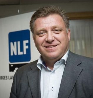 <p>SKEPTISK: Geir A. Mo i Norges Lastebileier-forbund tror ikke helt på undersøkelsen.</p>