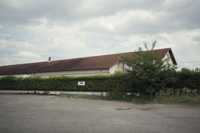 """Her er moskeen som franske medier mener tiltalte tilhørte, """"Den store moskeen"""" i Saint-Priest."""